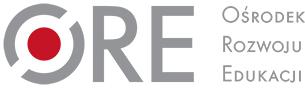 Logo Ośrodek Rozwoju Edukacji